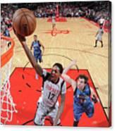 Minnesota Timberwolves V Houston Rockets Canvas Print