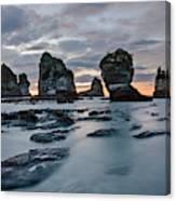 Motukiekie Beach - New Zealand Canvas Print