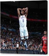 New Orleans Pelicans V Oklahoma City Canvas Print