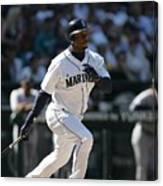 New York Yankees V Seattle Mariners 4 Canvas Print