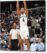 Orlando Magic V Memphis Grizzlies Canvas Print