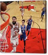 Philadelphia 76ers V Chicago Bulls Canvas Print