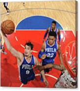 Philadelphia 76ers V La Clippers Canvas Print