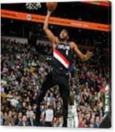 Portland Trail Blazers V Boston Celtics Canvas Print
