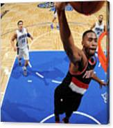 Portland Trail Blazers V Orlando Magic Canvas Print