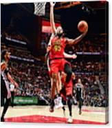 San Antonio Spurs V Atlanta Hawks Canvas Print