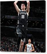 San Antonio Spurs V Brooklyn Nets Canvas Print