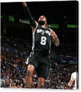 San Antonio Spurs V Oklahoma City Canvas Print