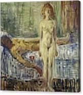 The Death Of Marat II  Canvas Print
