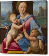 The Garvagh Madonna  Canvas Print