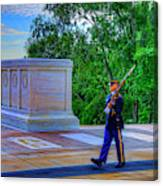 Tomb Of The Unknown Soldier Canvas Print