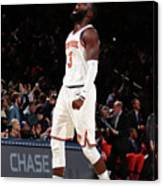 Toronto Raptors V New York Knicks Canvas Print