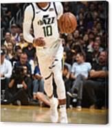 Utah Jazz V Los Angeles Lakers Canvas Print