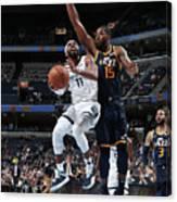 Utah Jazz V Memphis Grizzlies Canvas Print