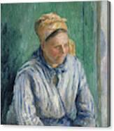 Washerwoman  Study  Canvas Print