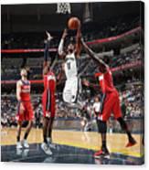 Washington Wizards V Memphis Grizzlies Canvas Print