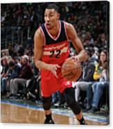 Washington Wizards V Milwaukee Bucks Canvas Print