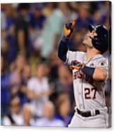 World Series - Houston Astros V Los Canvas Print