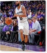 San Antonio Spurs V Sacramento Kings Canvas Print