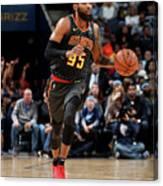 Atlanta Hawks V Memphis Grizzlies Canvas Print