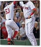 Baltimore Orioles V Boston Red Sox 5 Canvas Print