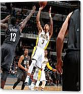 Brooklyn Nets V Indiana Pacers Canvas Print