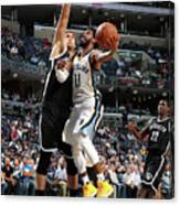 Brooklyn Nets V Memphis Grizzlies Canvas Print