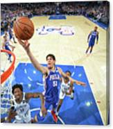 Brooklyn Nets V Philadelphia 76ers - Canvas Print