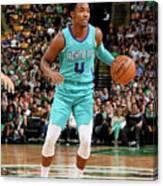 Charlotte Hornets V Boston Celtics Canvas Print
