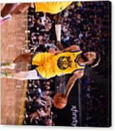 Charlotte Hornets V Golden State Canvas Print