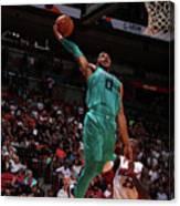 Charlotte Hornets V Miami Heat Canvas Print