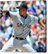 Chicago White Sox V Chicago Cubs Canvas Print