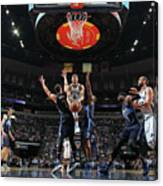 Dallas Mavericks V Memphis Grizzlies Canvas Print