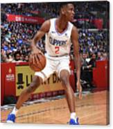 Denver Nuggets V La Clippers Canvas Print