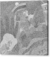 Detail From Sgt. Pepper's Mug Head Canvas Print