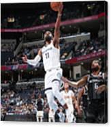 Detroit Pistons V Memphis Grizzlies Canvas Print