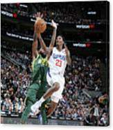 Los Angeles Clippers V Utah Jazz Canvas Print
