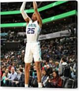 Memphis Grizzlies V Charlotte Hornets Canvas Print
