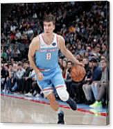 Memphis Grizzlies V Sacramento Kings Canvas Print