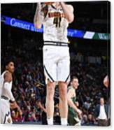 Milwaukee Bucks V Denver Nuggets Canvas Print