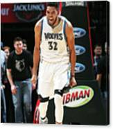 Milwaukee Bucks V Minnesota Timberwolves Canvas Print