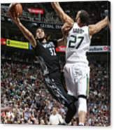 Minnesota Timberwolves V Utah Jazz Canvas Print