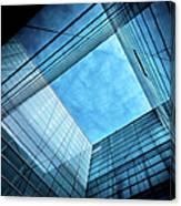 Modern Glass Architecture Canvas Print
