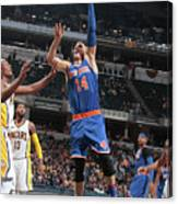 New York Knicks V Indiana Pacers Canvas Print