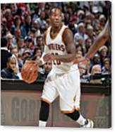 Orlando Magic V Cleveland Cavaliers Canvas Print