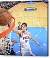 Philadelphia 76ers V Dallas Mavericks Canvas Print