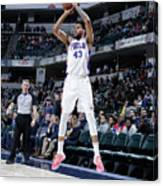 Philadelphia 76ers V Indiana Pacers Canvas Print