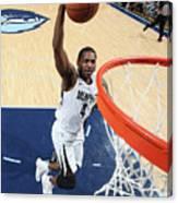 Sacramento Kings V Memphis Grizzlies Canvas Print