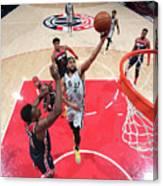 San Antonio Spurs V Washington Wizards Canvas Print