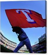 Seattle Mariners V Texas Rangers Canvas Print